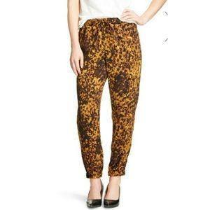EUC Merona Leopard Print Joggers
